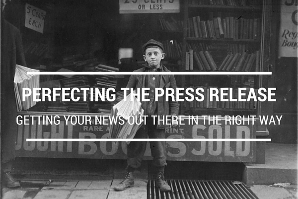 Perfecting the press release