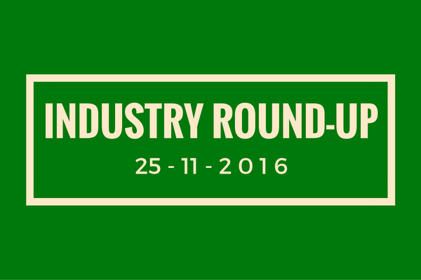 Industry round-up 25-11-2016